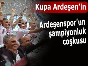 Ardeşen GSK Türkiye Kupasında şampiyon oldu