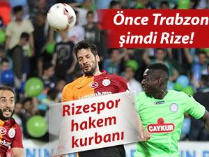 Önce Trabzon şimdi Rize! Rizespor hakem kurbanı!