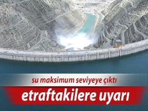 Çoruh etrafındakiler dikkat! Baraj kapakları açılacak