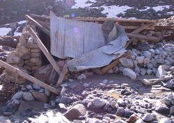 Rize'de heyelan: 46 ev yıkıldı