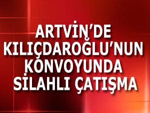 Kılıçdaroğlu'nun konvoyu durduruldu, çatışma çıktı