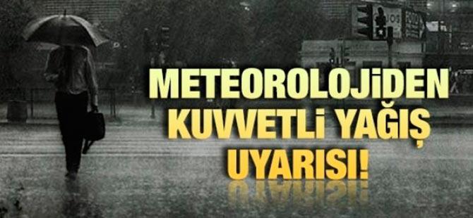 D. Karadeniz Bölgesi için kuvvetli yağış uyarısı