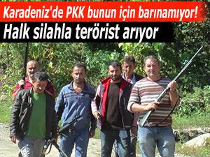 Karadeniz'de PKK bunun için barınamıyor!