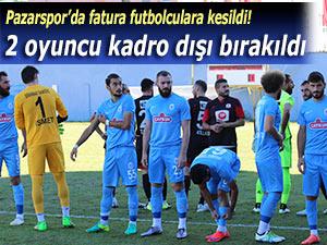 Pazarspor'da suçlular bulundu!