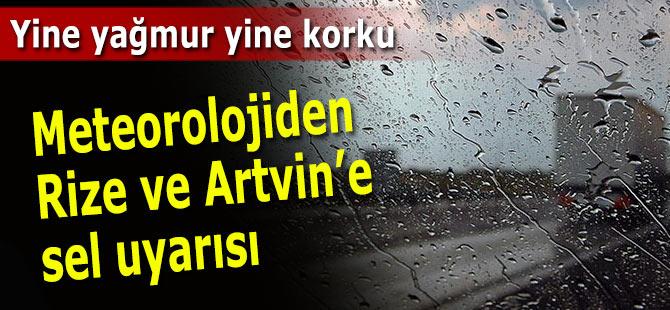 Doğu Karadeniz için şiddetli yağış uyarısı