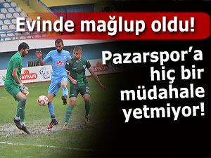 Pazarspor'a gelen vuruyor, giden vuruyor!