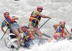 Rafting sezonu törenle açıldı