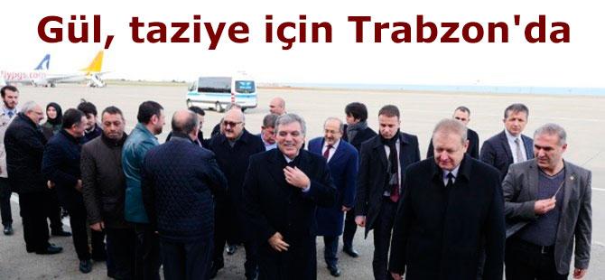 Eski Cumhurbaşkanı Abdullah Gül taziye için Trabzon'da