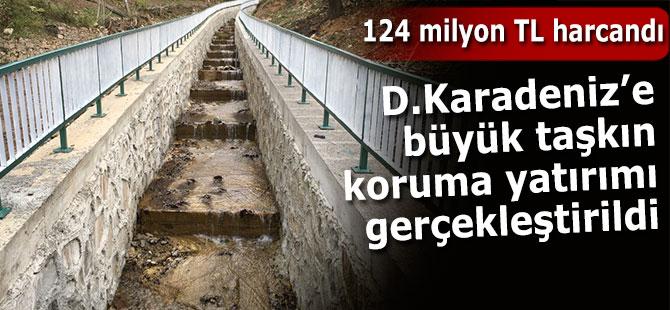 D.Karadeniz'e büyük taşkın koruma yatırımı