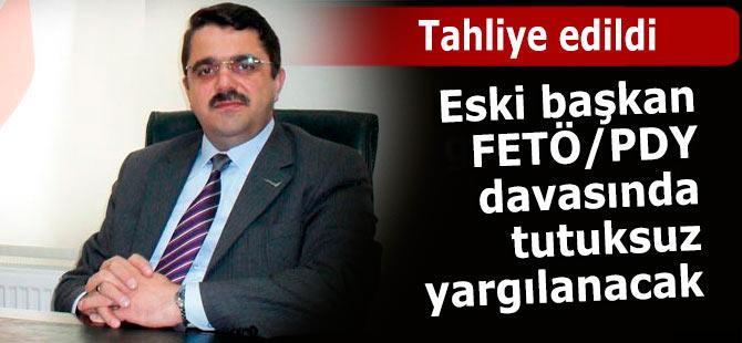 Eski başkan Külünkoğlu tahliye edildi