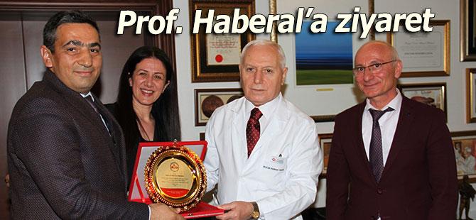 Pazar Haberal Okulu heyetinden Prof. Haberal Hoca'ya ziyaret