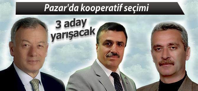 Pazar'da kooperatif seçiminde 3 aday yarışacak