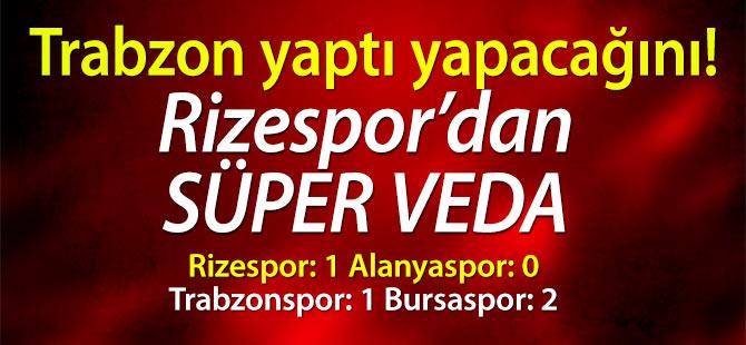 Trabzon yaptı yapacağını!