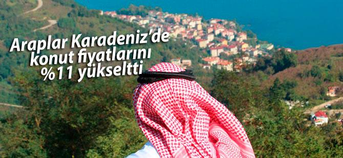 Araplar D.Karadeniz'de konut fiyatlarını artırdı
