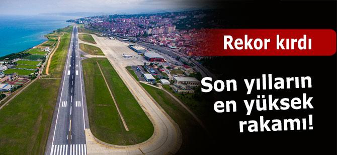 Trabzon havalimanı yaz rekorunu kırdı