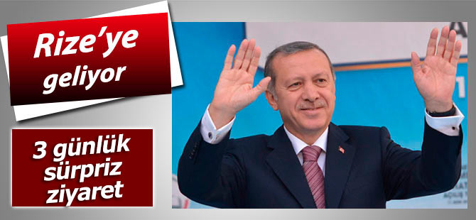 Cumhurbaşkanı Erdoğan 3 günlük tatilini Rize'de geçirecek