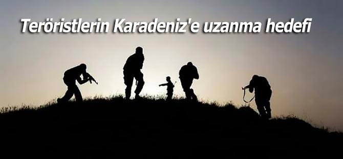 Teröristlerin Karadeniz'e uzanma planı