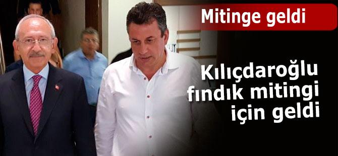 CHP Genel Başkanı Kılıçdaroğlu Trabzon'da