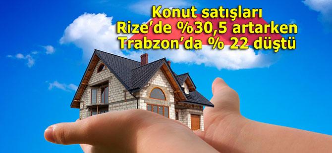 Trabzon'da düşüyor Rize'de artıyor!