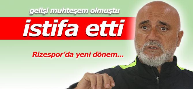Rizespor Teknik Direktörü Hikmet Karaman istifa etti