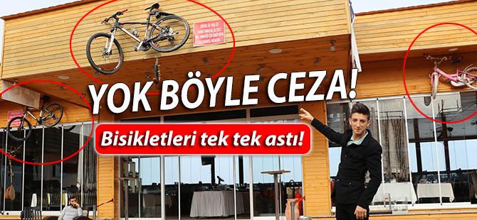 Başarısız Olan Yeğenlerine Bisiklet Cezası