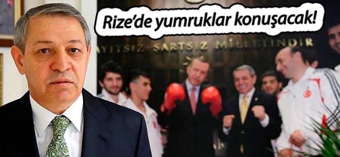 RİZE'DE YUMRUKLAR KONUŞACAK!