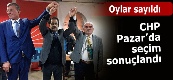 CHP Pazar'da 2 listeli kongre