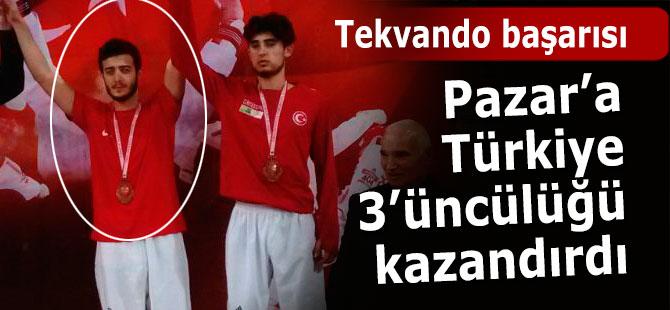 Pazar'a Türkiye 3'üncülüğü getirdi