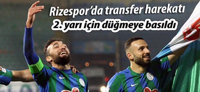 Rizespor'da transferler için düğmeye basıldı