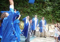 Eğitim bitti, karneler dağıtıldı