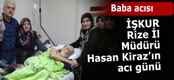 İŞKUR İl Müdürü Kiraz'ın acı günü