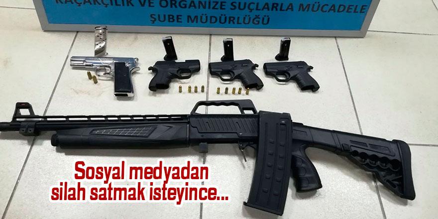 Sosyal medyadan silah satmak isteyince...