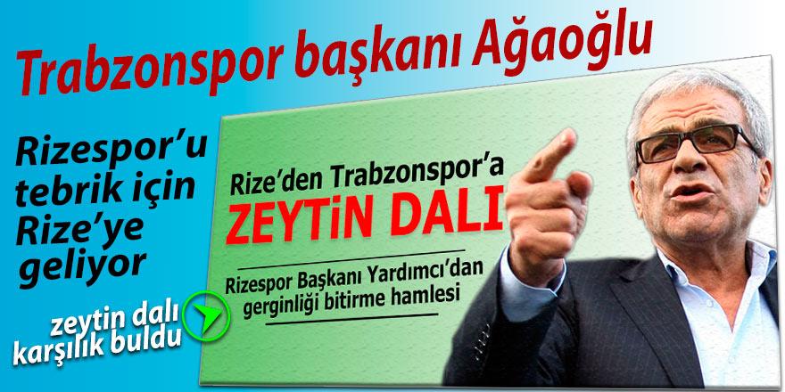 Ahmet Ağaoğlu, Çaykur Rizespor'u ziyaret edecek