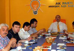 AKP Rize'den 100 bin oy hedefliyor