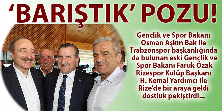 Trabzonspor ile dostluk bağları güçlendiriliyor!