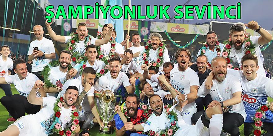 Rizespor'a şampiyonluk kupası Bakan Bak'tan