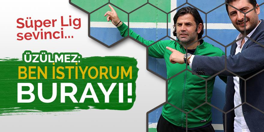 Rizespor'da Süper Lig sevinci
