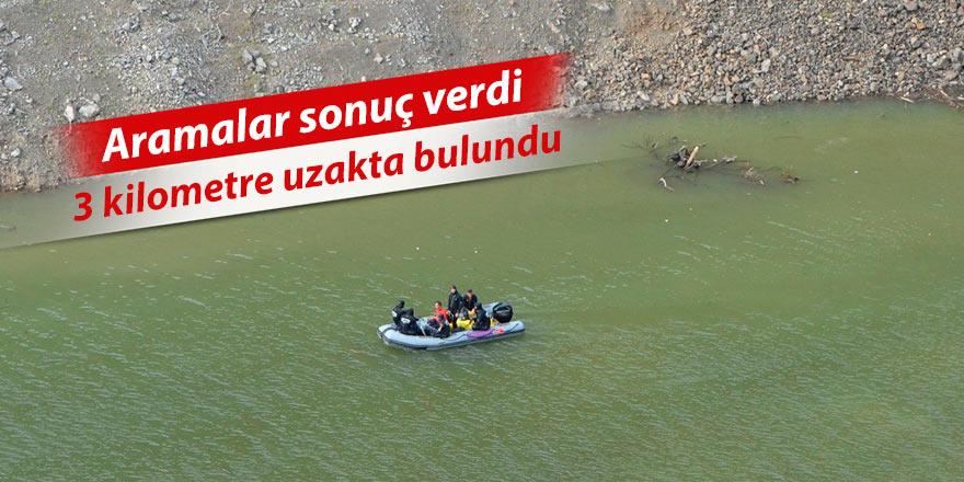 Çoruh Nehri'ne uçan araçtaki 3. şahsın cesedi bulundu
