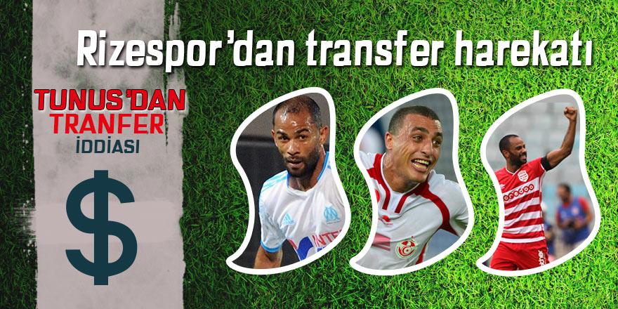 Rizespor'da transfer harekatı; Tunus'tan transfer!