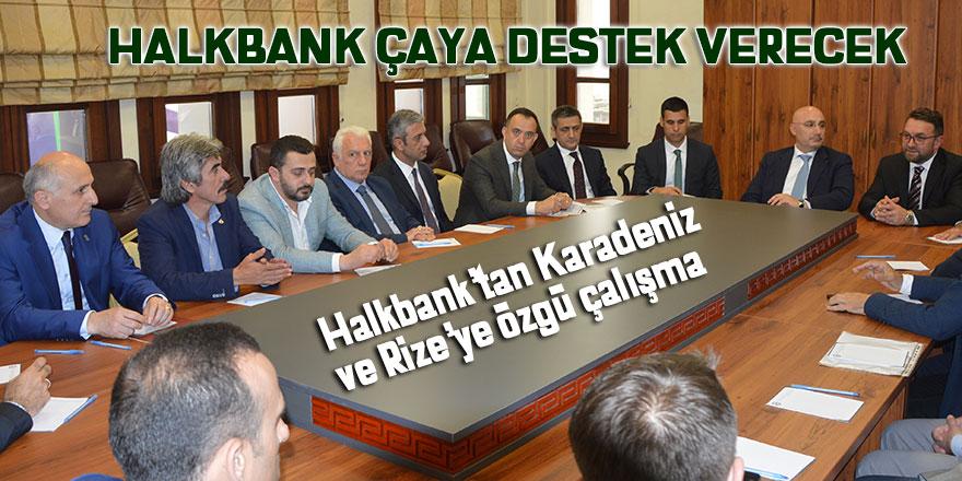Halkbank çaya destek verecek