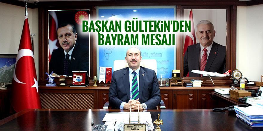 Başkan Gültekin'den bayram mesajı (ilandır)