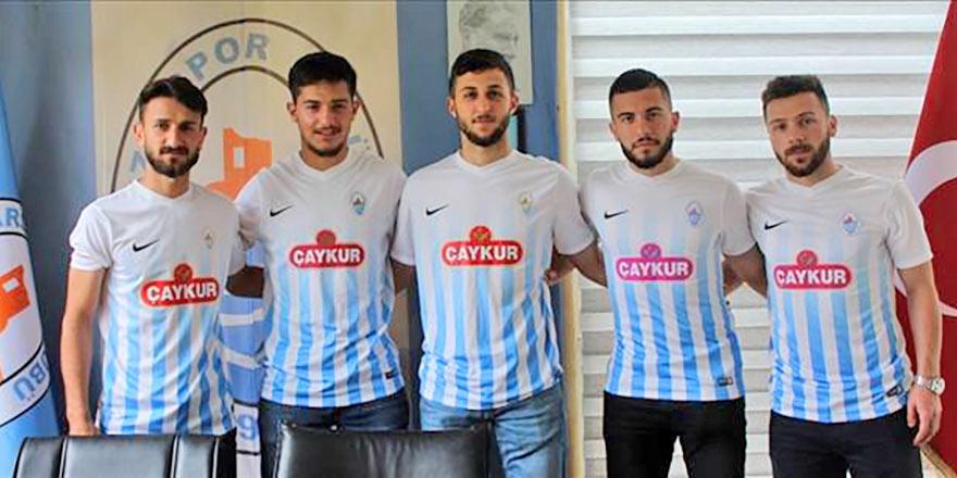 Rizespor, Pazarspor'a 5 oyuncu verdi