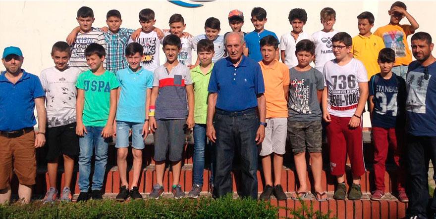 Pazar Trabzonspor Futbol Okulu Düzce'de kampa çekildi