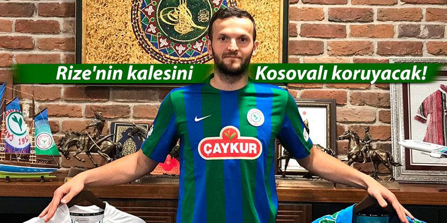 Rize'nin kalesini Kosovalı koruyacak!