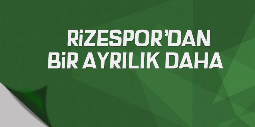 Rizespor, Turgut Doğan Şahin ile yollarını ayırdı