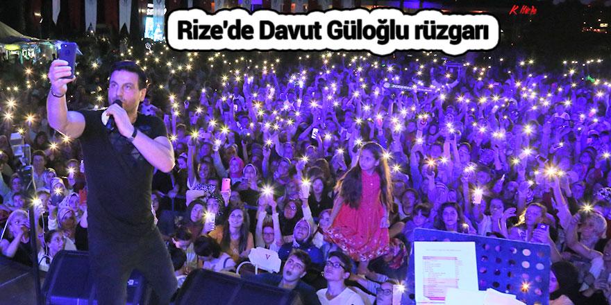 Rize'de Davut Güloğlu rüzgarı