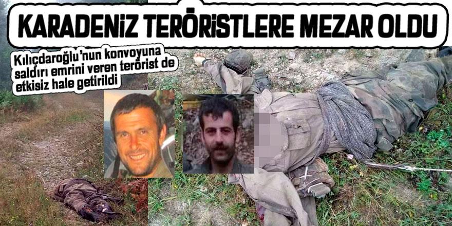 Karadeniz teröristlerden temizleniyor