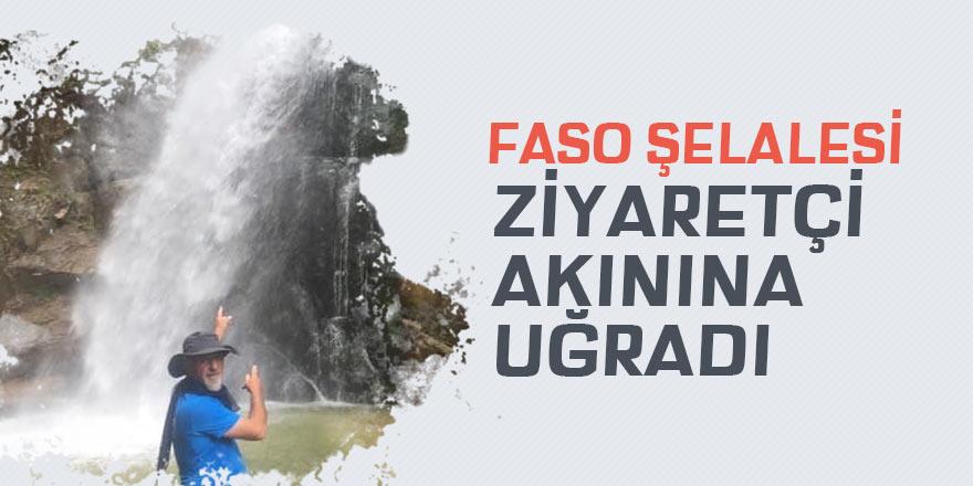 Faso Şelalesi muhteşem görüntüsü ile dikkat çekiyor