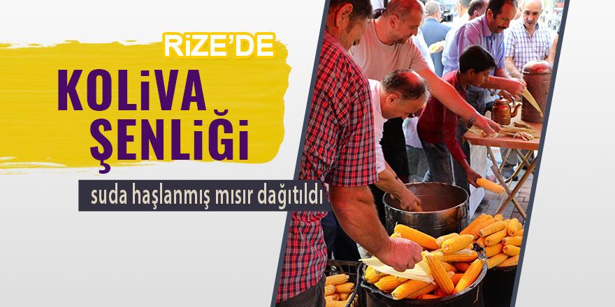 Rize'de '1. Koliva Festivali' düzenlendi