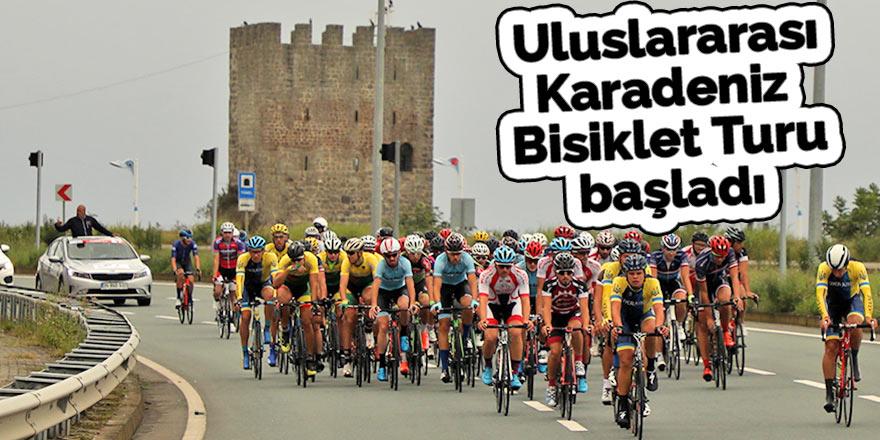 Uluslararası Karadeniz Bisiklet Turu başladı